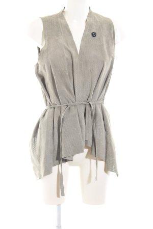 Hilfiger Denim Leather Vest light grey elegant