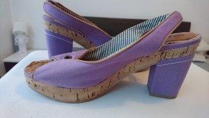 Hilfiger Denim lila Schuhe mit Absatz