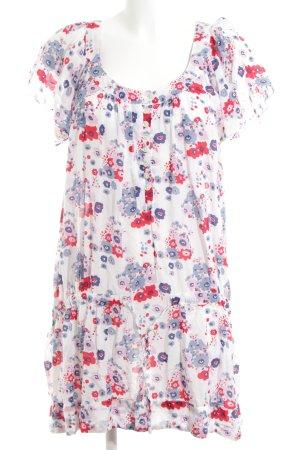 Hilfiger Denim Long-Bluse Blumenmuster Casual-Look