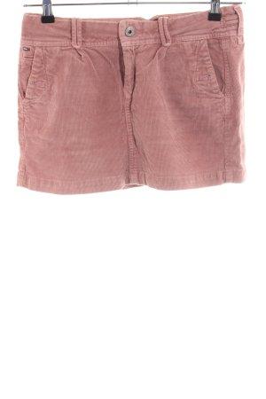 Hilfiger Denim Minirock pink Streifenmuster Casual-Look