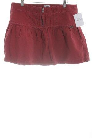 Hilfiger Denim Mini-jupe rouge style décontracté