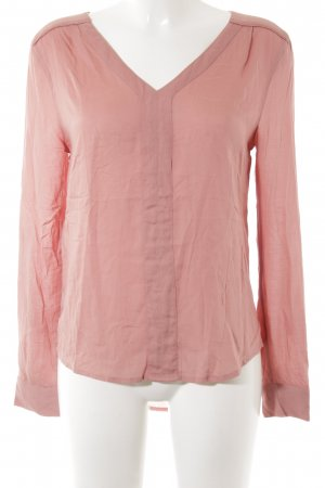 Hilfiger Denim Oversized Bluse rosa Casual-Look