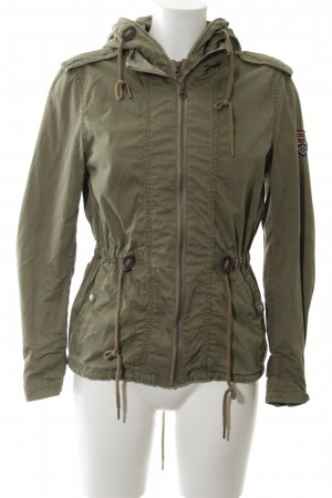 Hilfiger Denim Parka caqui look casual