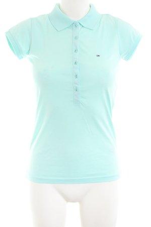 Hilfiger Denim Polo-Shirt türkis Casual-Look