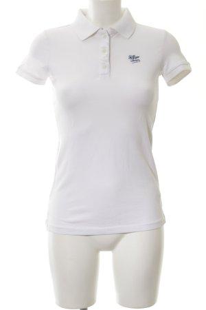 Hilfiger Denim Polo-Shirt weiß Casual-Look
