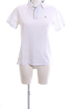 Hilfiger Denim Polo-Shirt weiß Business-Look