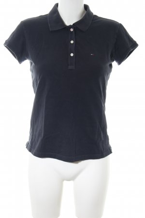 Hilfiger Denim Camiseta tipo polo azul look casual