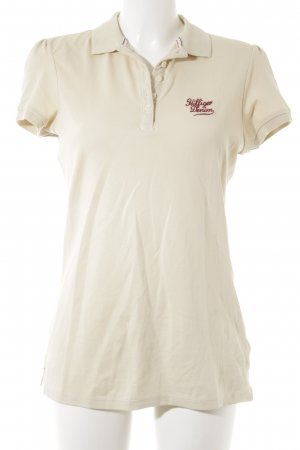 Hilfiger Denim Polo-Shirt hellbeige Casual-Look