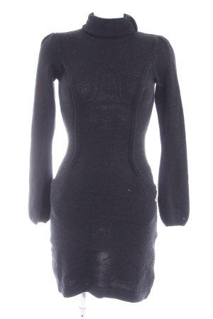 Hilfiger Denim Pulloverkleid schwarz Casual-Look