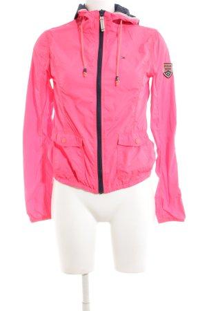 Hilfiger Denim Regenjacke pink Casual-Look