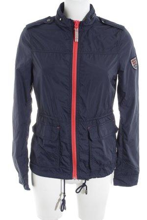 Hilfiger Denim Raincoat blue-pink simple style
