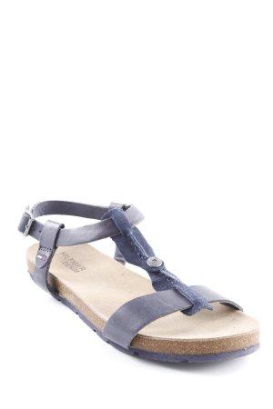 Hilfiger Denim Riemchen-Sandalen dunkelblau-blau Casual-Look