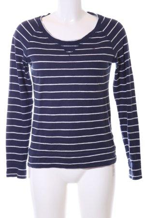 Hilfiger Denim Ringelshirt blau-weiß Streifenmuster Casual-Look