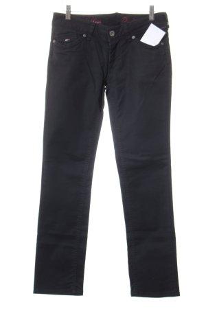 Hilfiger Denim Drainpipe Trousers black casual look