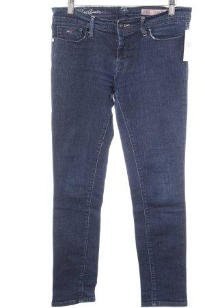 Hilfiger Denim Röhrenjeans dunkelblau Jeans-Optik