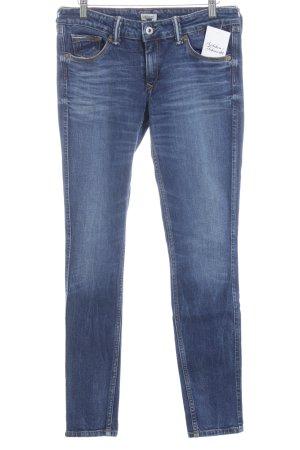 Hilfiger Denim Röhrenjeans stahlblau Jeans-Optik