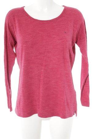Hilfiger Denim Crewneck Sweater magenta casual look