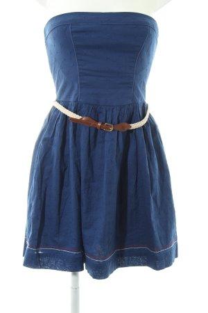 Hilfiger Denim schulterfreies Kleid mehrfarbig Casual-Look