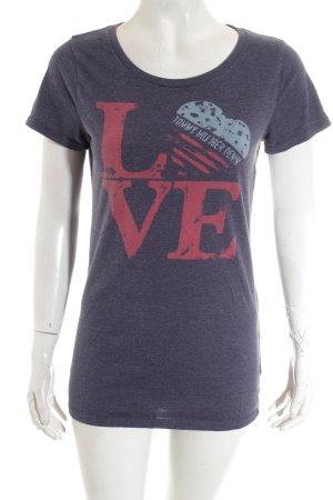 Hilfiger Denim Shirt stahlblau Casual-Look