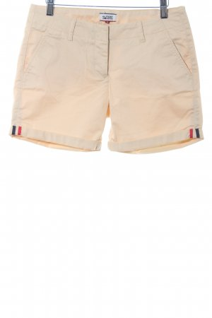 Hilfiger Denim Shorts hellgelb Casual-Look
