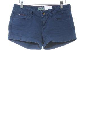 Hilfiger Denim Shorts stahlblau Street-Fashion-Look