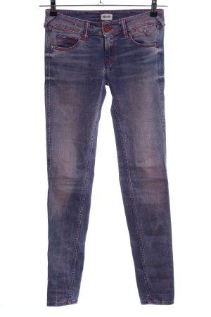Hilfiger Denim Skinny Jeans blau-pink Casual-Look