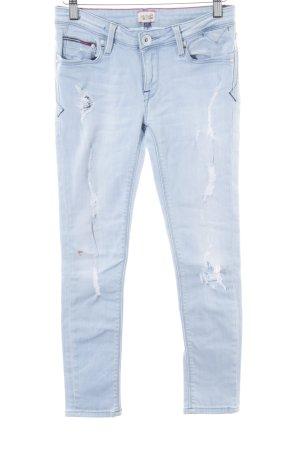 Hilfiger Denim Skinny Jeans blau-türkis Casual-Look