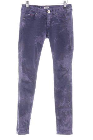 Hilfiger Denim Skinny Jeans abstraktes Muster Casual-Look
