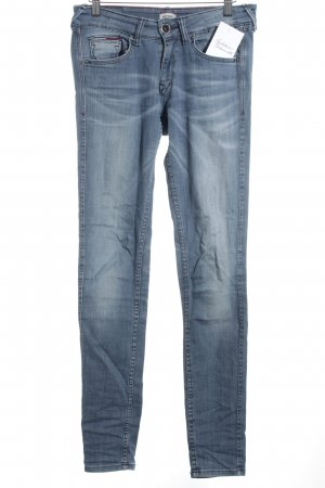 Hilfiger Denim Skinny Jeans blassblau Used-Optik