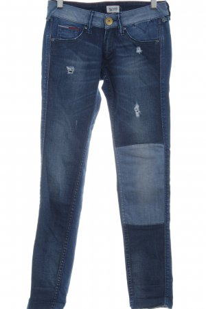 Hilfiger Denim Skinny Jeans blau Used-Optik