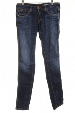 Hilfiger Denim Skinny Jeans blau Washed-Optik