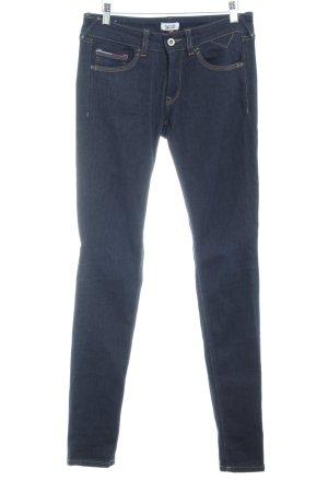 Hilfiger Denim Skinny Jeans dunkelblau College-Look