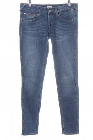 Hilfiger Denim Skinny Jeans dunkelblau-graublau Washed-Optik