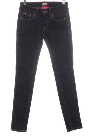 Hilfiger Denim Skinny Jeans dunkelblau schlichter Stil