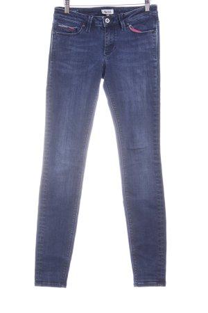 Hilfiger Denim Skinny Jeans dunkelblau-silberfarben Casual-Look