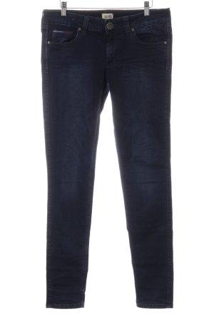 Hilfiger Denim Skinny Jeans dunkelblau Washed-Optik