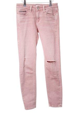 Hilfiger Denim Skinny Jeans pink Casual-Look