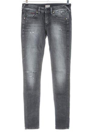 Hilfiger Denim Skinny Jeans hellgrau Street-Fashion-Look