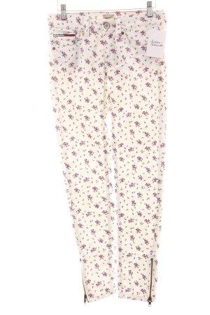 Hilfiger Denim Skinny Jeans florales Muster Casual-Look