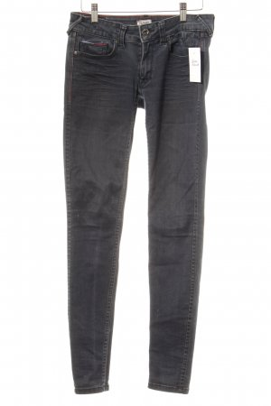 Hilfiger Denim Skinny Jeans graublau Washed-Optik
