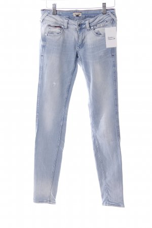 Hilfiger Denim Skinny Jeans hellblau Destroy-Optik