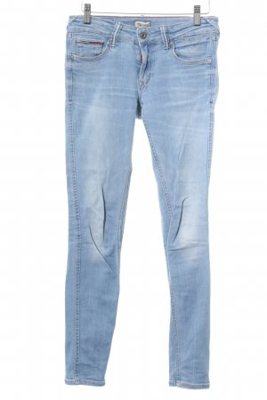 Hilfiger Denim Skinny Jeans hellblau Washed-Optik