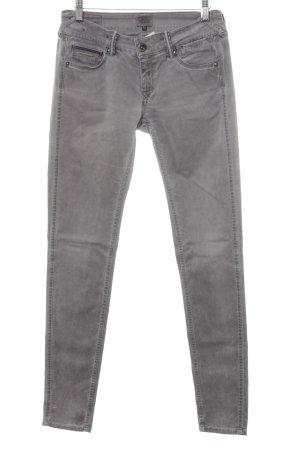 Hilfiger Denim Skinny Jeans hellgrau schlichter Stil
