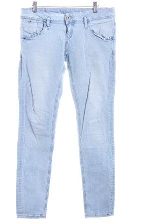 Hilfiger Denim Skinny Jeans kornblumenblau-himmelblau Casual-Look