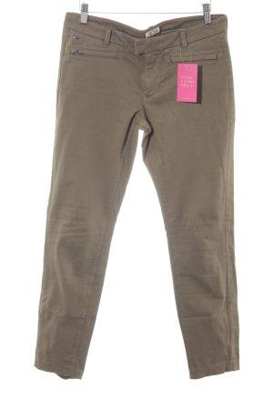 Hilfiger Denim Skinny Jeans olivgrün schlichter Stil