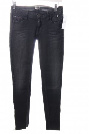 Hilfiger Denim Skinny Jeans schwarz Washed-Optik