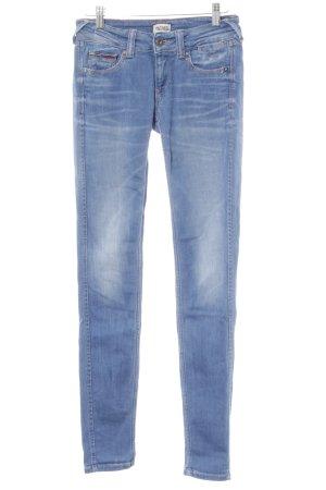 Hilfiger Denim Skinny Jeans stahlblau-hellbeige Casual-Look
