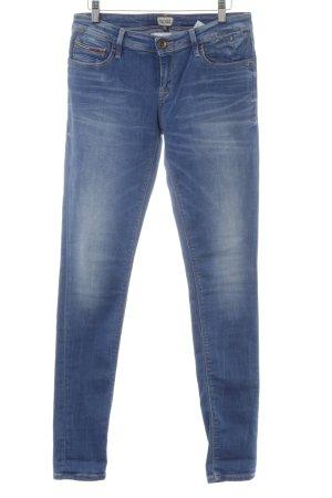 Hilfiger Denim Skinny Jeans stahlblau-himmelblau Casual-Look