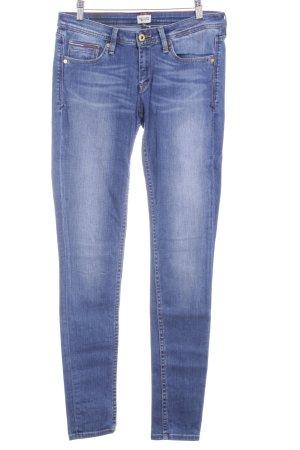 Hilfiger Denim Skinny Jeans stahlblau-kornblumenblau Casual-Look