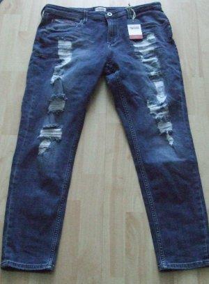 Hilfiger Denim Jeans a 7/8 blu Cotone